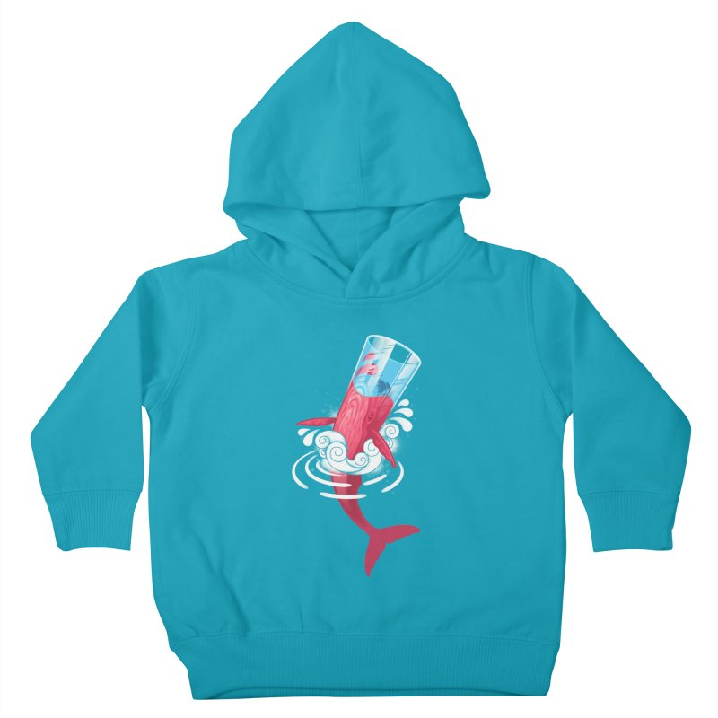 Whale Kids Toddler Pullover Hoody by eleken's Artist Shop
