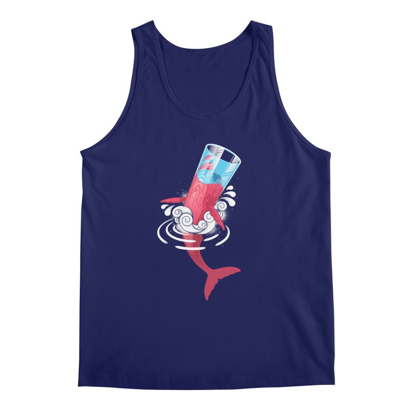 Whale Men's Tank by eleken's Artist Shop