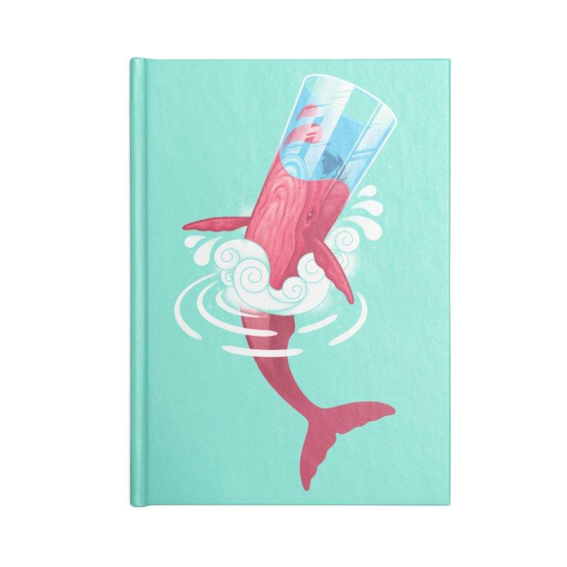 Whale Accessories Notebook by eleken's Artist Shop