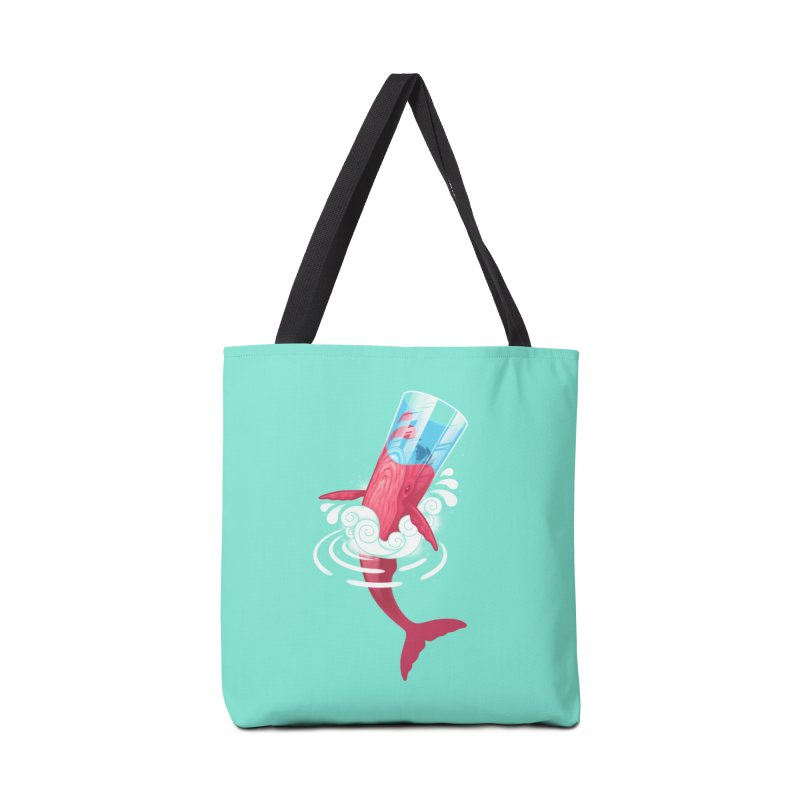 Whale Accessories Bag by eleken's Artist Shop