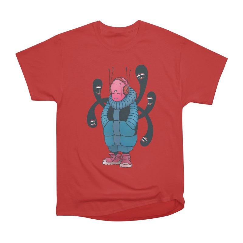 The whisper Men's Heavyweight T-Shirt by eleken's Artist Shop