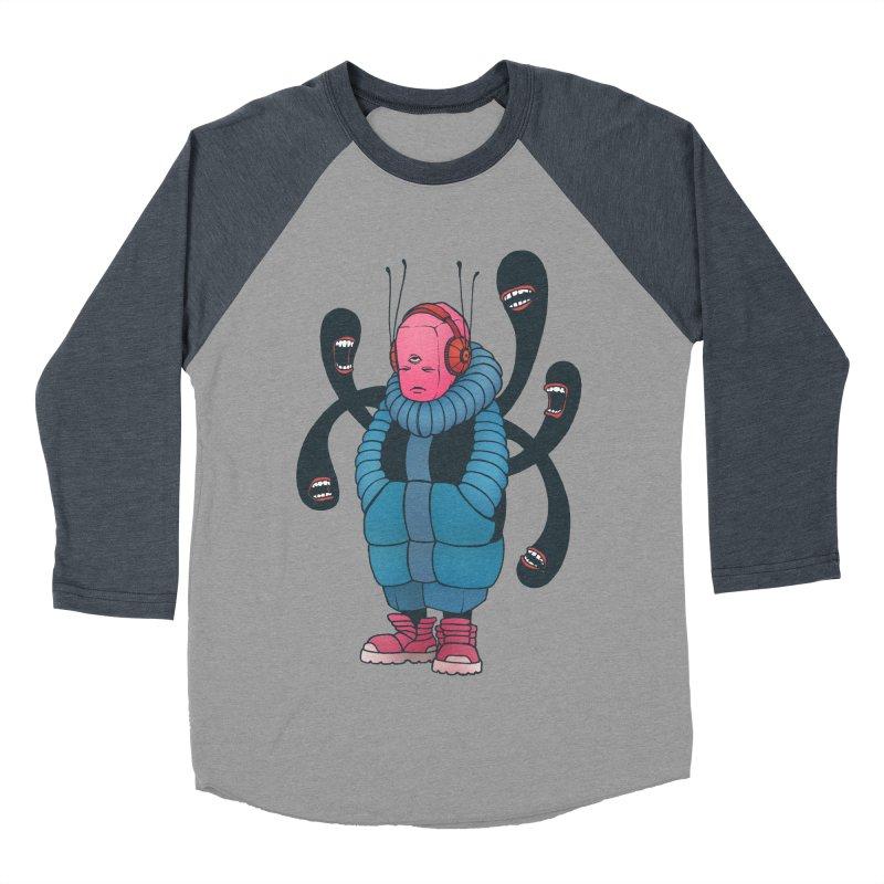 The whisper Women's Baseball Triblend T-Shirt by eleken's Artist Shop