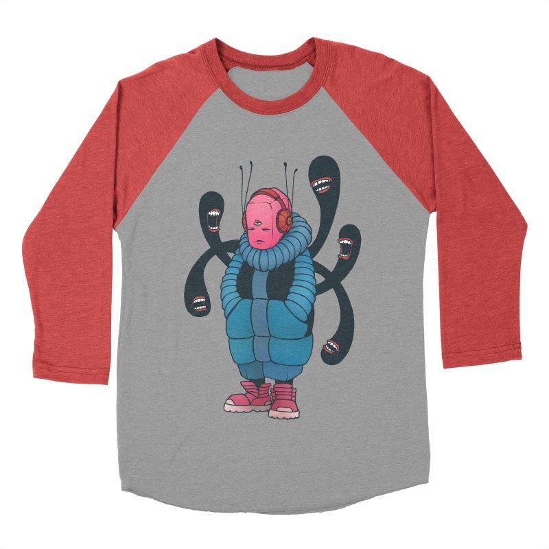 The whisper Men's Baseball Triblend T-Shirt by eleken's Artist Shop