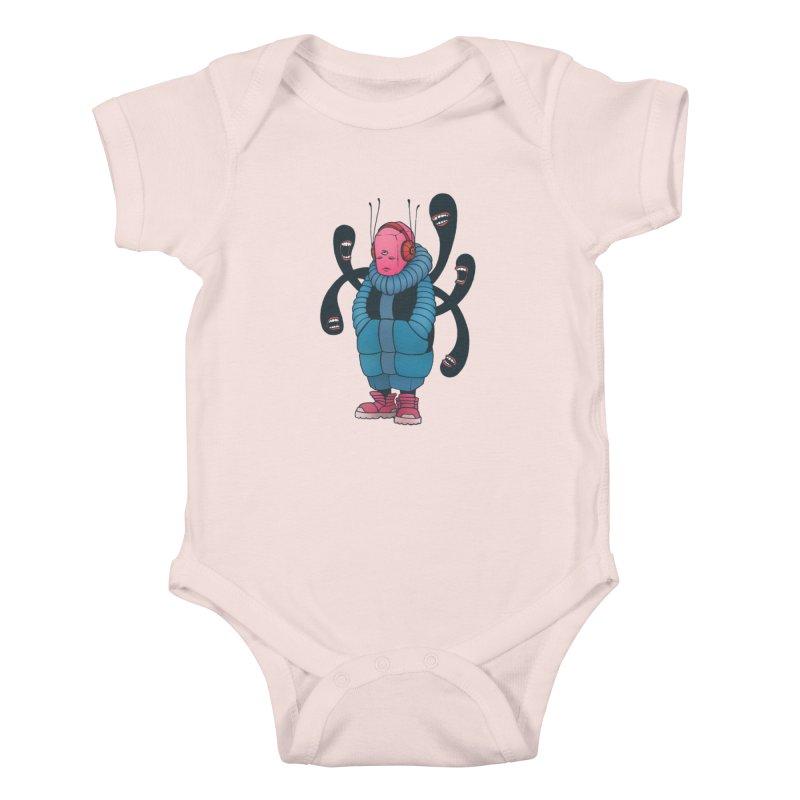 The whisper Kids Baby Bodysuit by eleken's Artist Shop