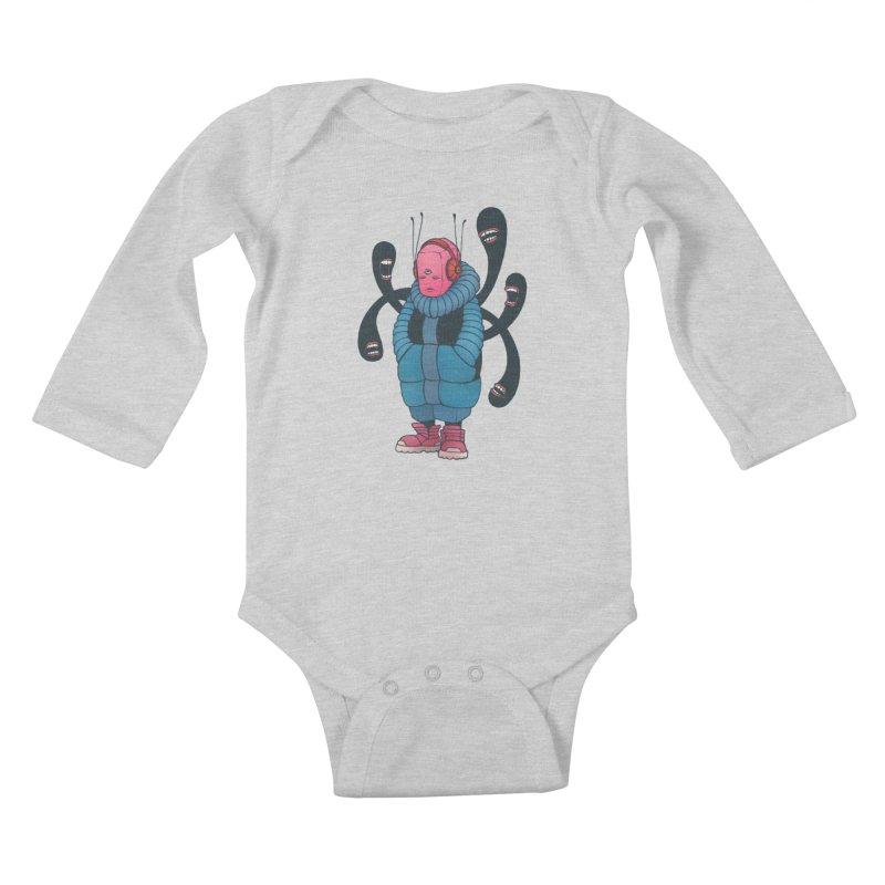 The whisper Kids Baby Longsleeve Bodysuit by eleken's Artist Shop