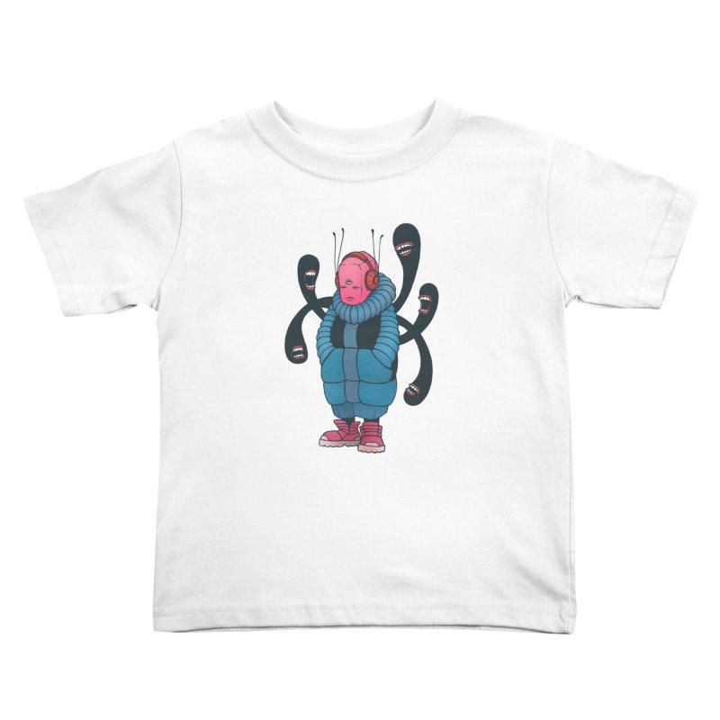 The whisper Kids Toddler T-Shirt by eleken's Artist Shop