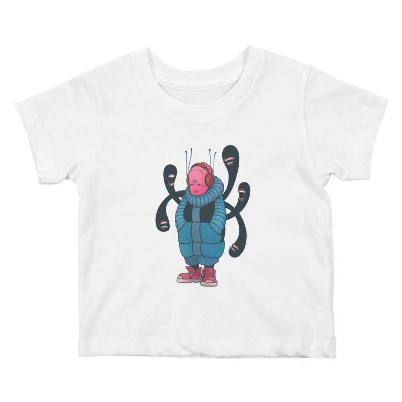 The whisper Kids Baby T-Shirt by eleken's Artist Shop