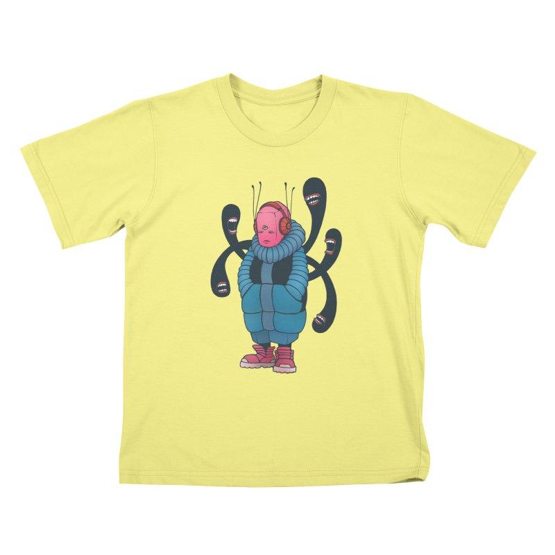 The whisper Kids T-shirt by eleken's Artist Shop