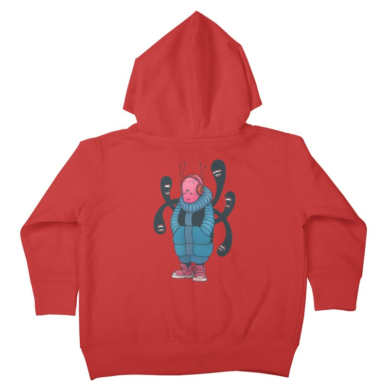 The whisper Kids Toddler Zip-Up Hoody by eleken's Artist Shop