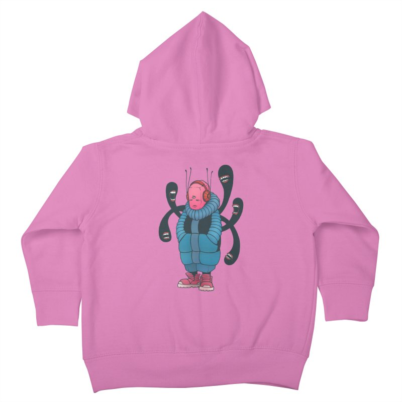The whisper Kids Toddler Zip-Up Hoody by eleken's Artist Shop