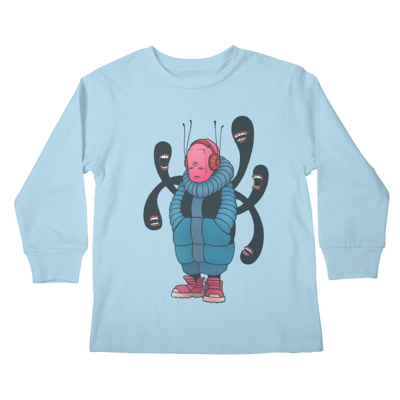 The whisper Kids Longsleeve T-Shirt by eleken's Artist Shop