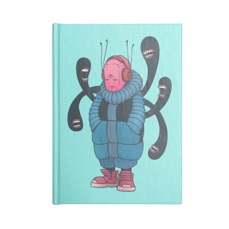 The whisper Accessories Notebook by eleken's Artist Shop