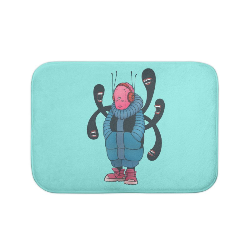 The whisper Home Bath Mat by eleken's Artist Shop