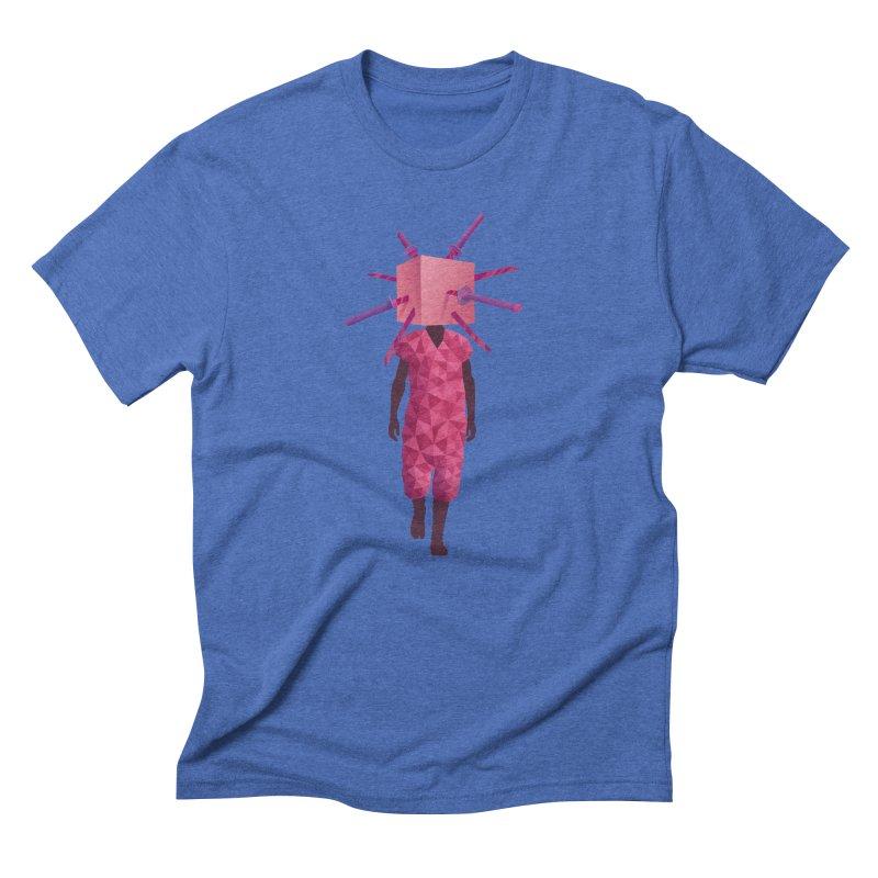 Swords Men's Triblend T-Shirt by eleken's Artist Shop