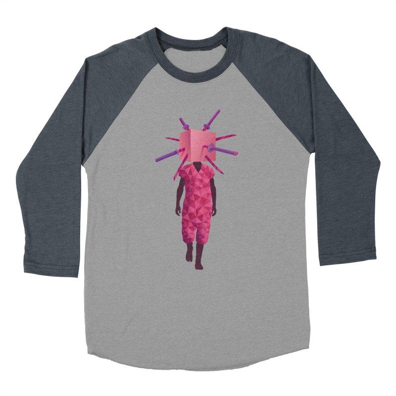 Swords Men's Baseball Triblend T-Shirt by eleken's Artist Shop