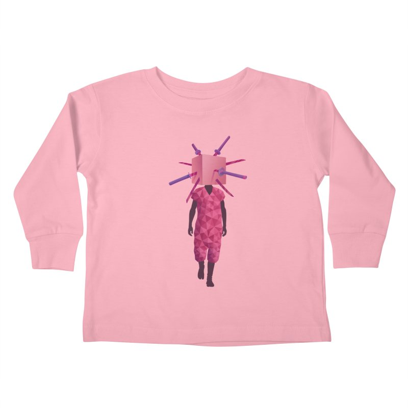 Swords Kids Toddler Longsleeve T-Shirt by eleken's Artist Shop