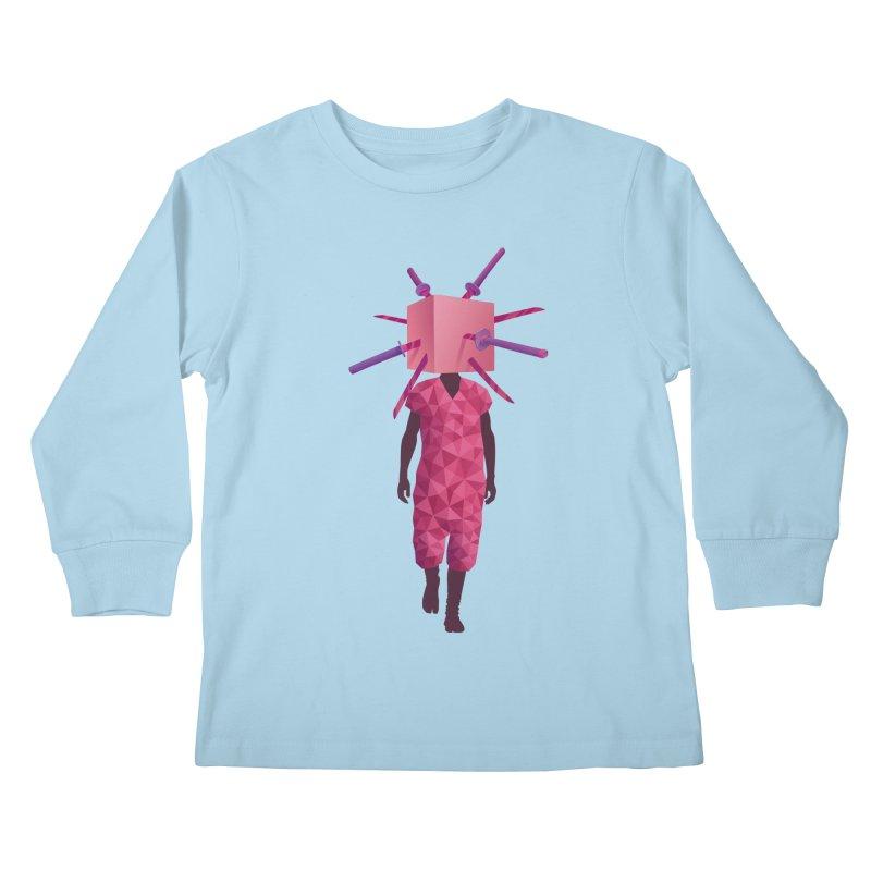 Swords Kids Longsleeve T-Shirt by eleken's Artist Shop
