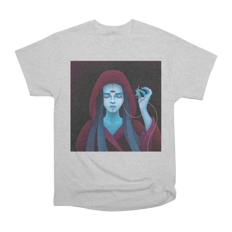 Needles Men's Heavyweight T-Shirt by eleken's Artist Shop