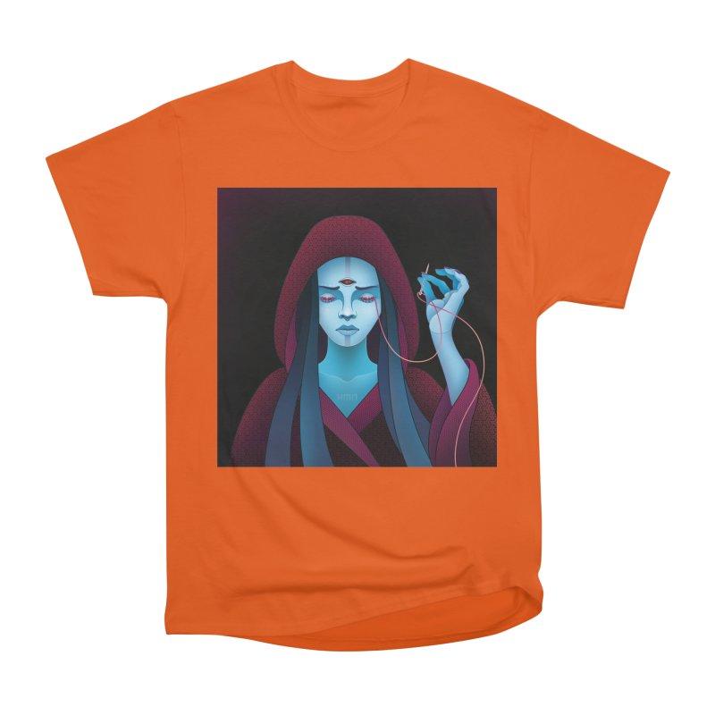 Needles Women's Heavyweight Unisex T-Shirt by eleken's Artist Shop