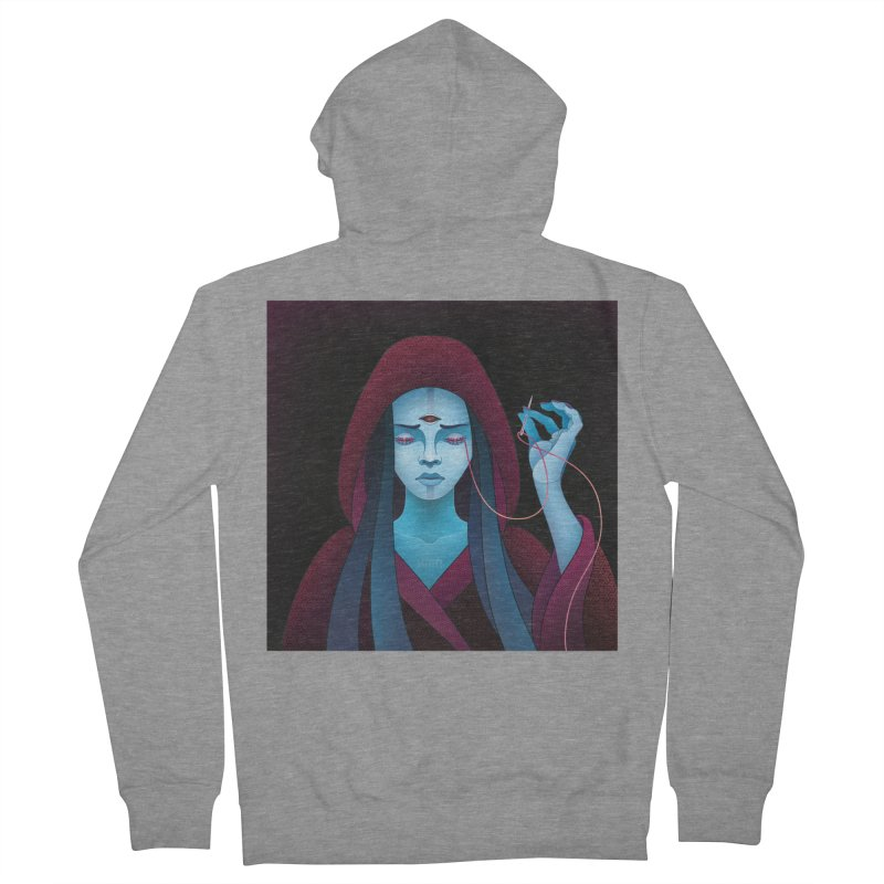 Needles Women's Zip-Up Hoody by eleken's Artist Shop