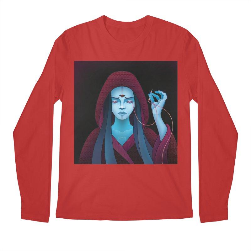 Needles Men's Longsleeve T-Shirt by eleken's Artist Shop