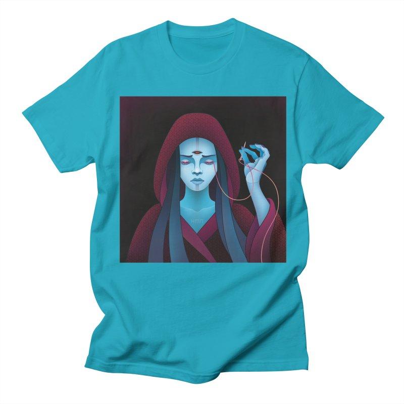 Needles Men's T-shirt by eleken's Artist Shop