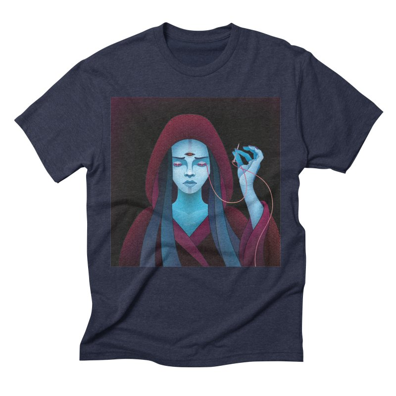 Needles Men's Triblend T-Shirt by eleken's Artist Shop