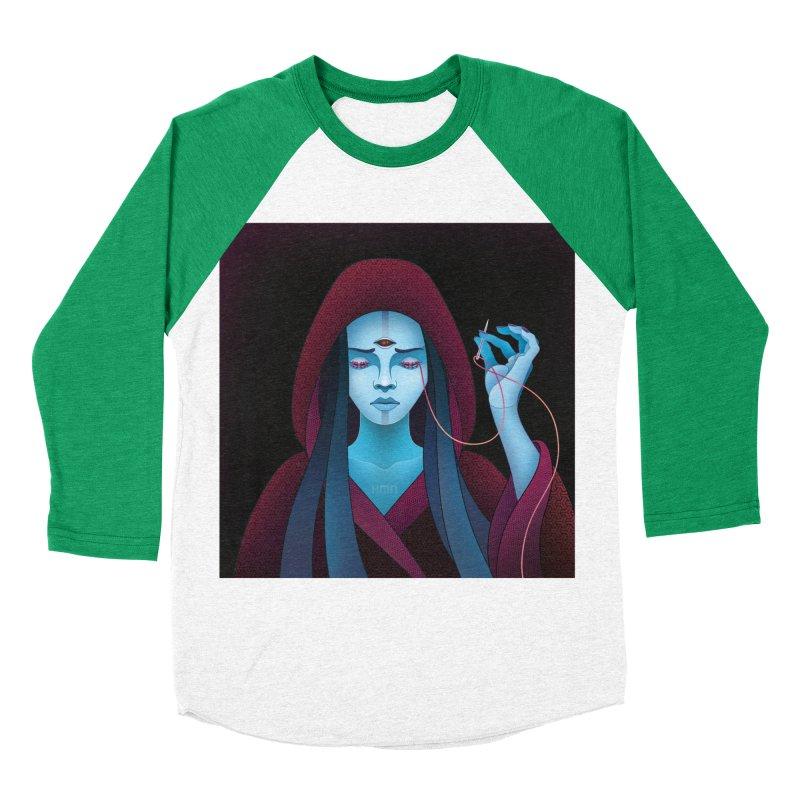 Needles Women's Baseball Triblend T-Shirt by eleken's Artist Shop
