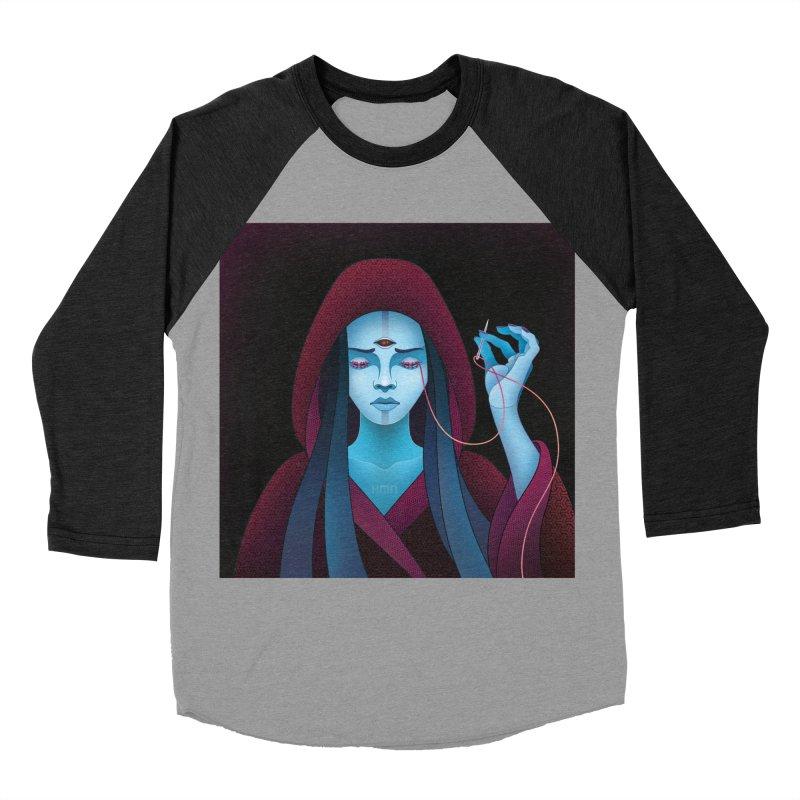 Needles Women's Baseball Triblend Longsleeve T-Shirt by eleken's Artist Shop