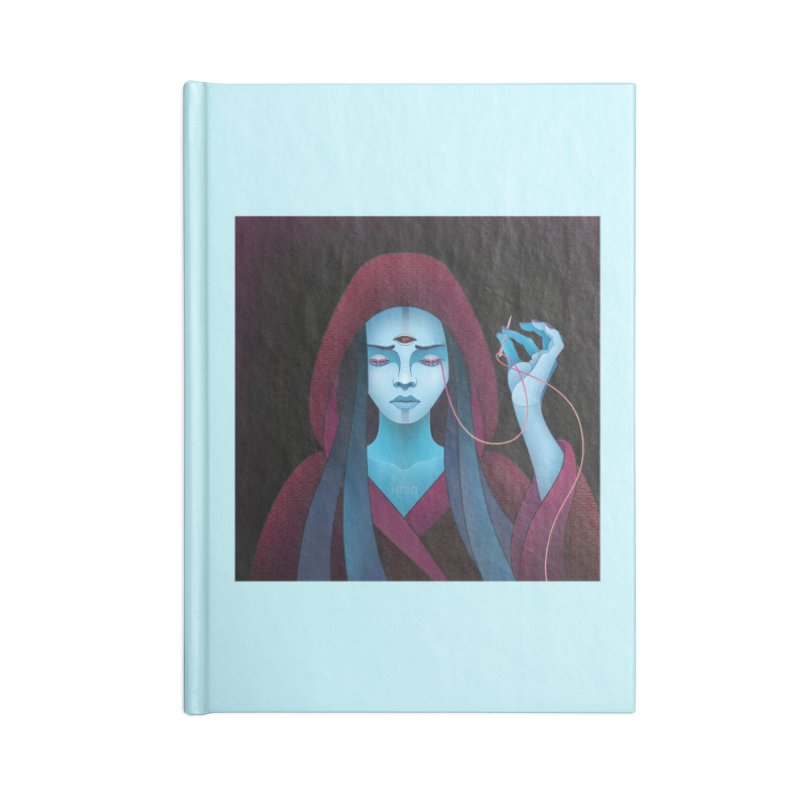 Needles Accessories Notebook by eleken's Artist Shop