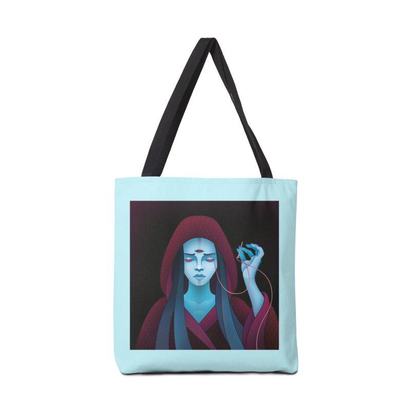 Needles Accessories Bag by eleken's Artist Shop