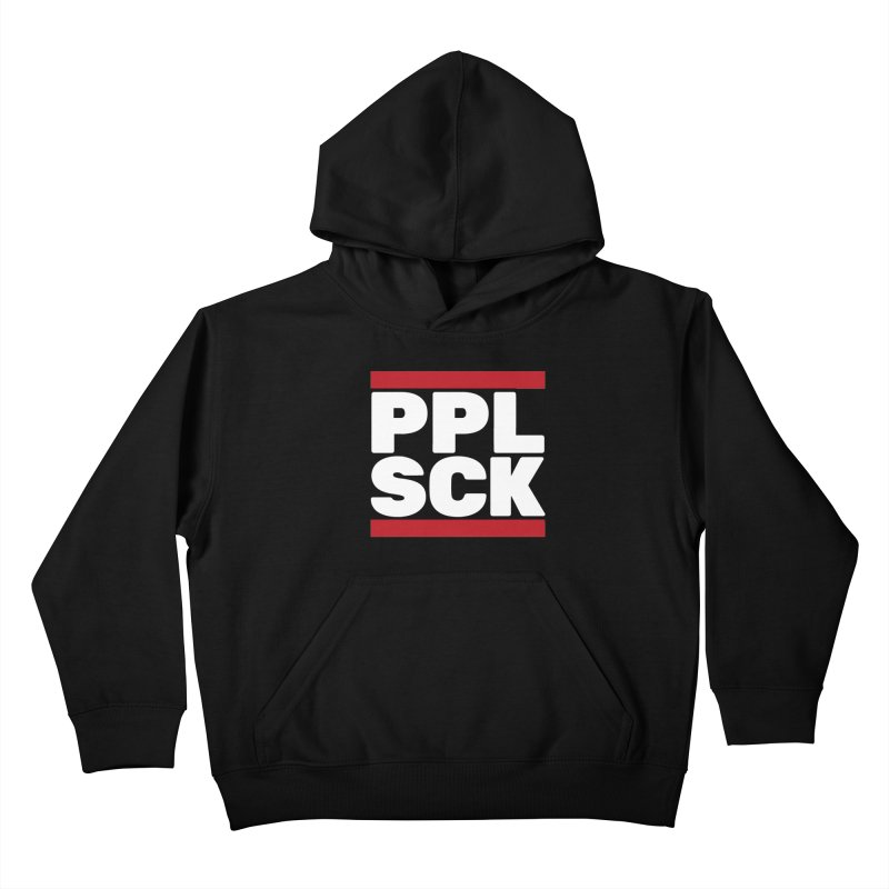 PPL SCK Kids Pullover Hoody by eleken's Artist Shop