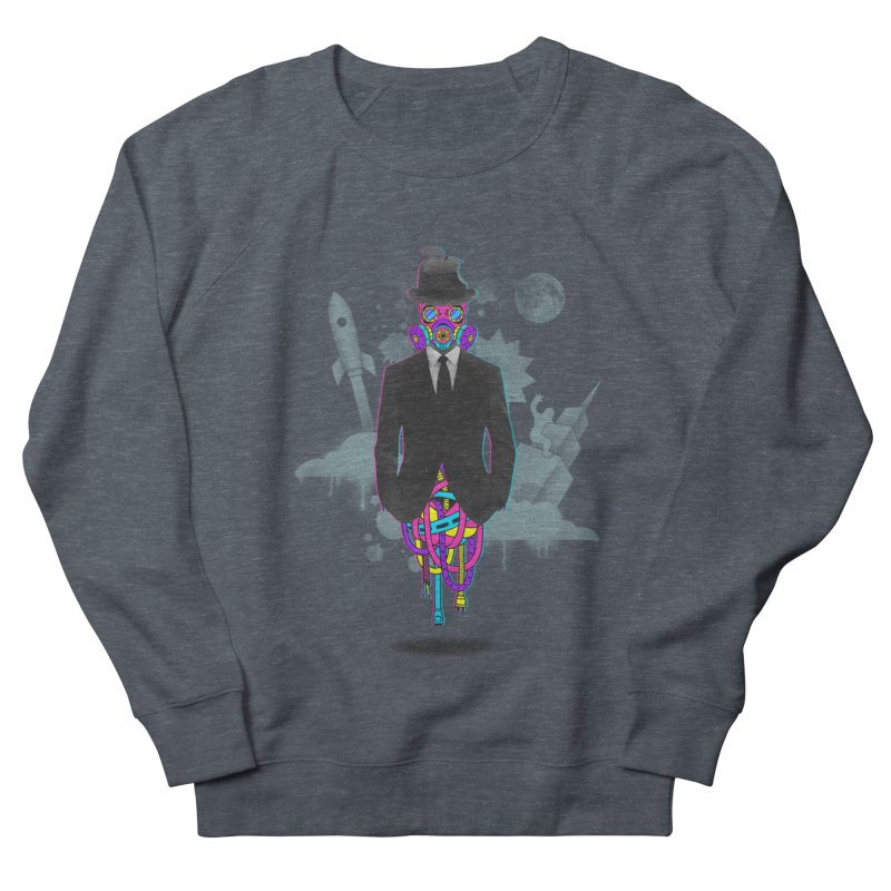 Issues Men's French Terry Sweatshirt by eleken's Artist Shop