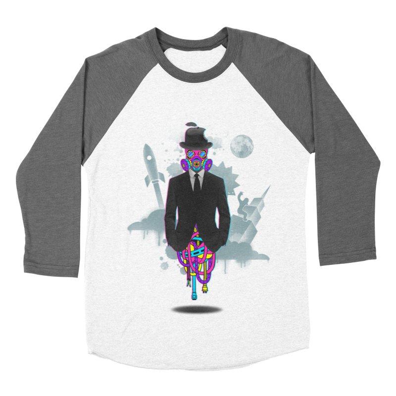 Issues Women's Baseball Triblend Longsleeve T-Shirt by eleken's Artist Shop