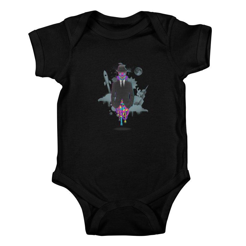 Issues Kids Baby Bodysuit by eleken's Artist Shop