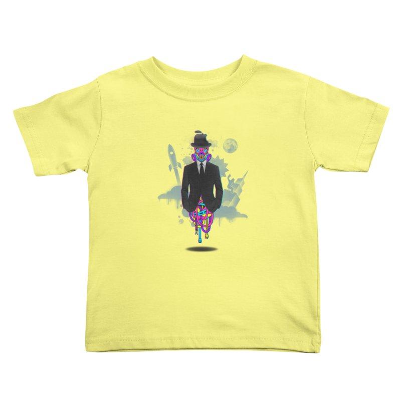 Issues Kids Toddler T-Shirt by eleken's Artist Shop