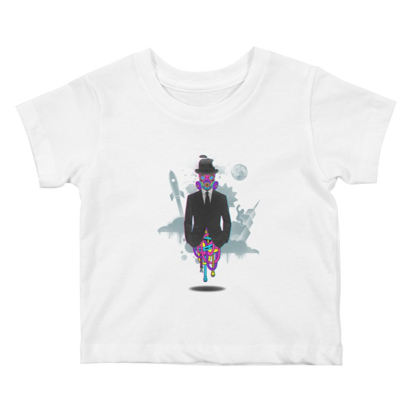 Issues Kids Baby T-Shirt by eleken's Artist Shop