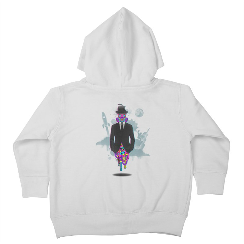 Issues Kids Toddler Zip-Up Hoody by eleken's Artist Shop