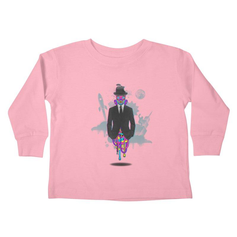 Issues Kids Toddler Longsleeve T-Shirt by eleken's Artist Shop