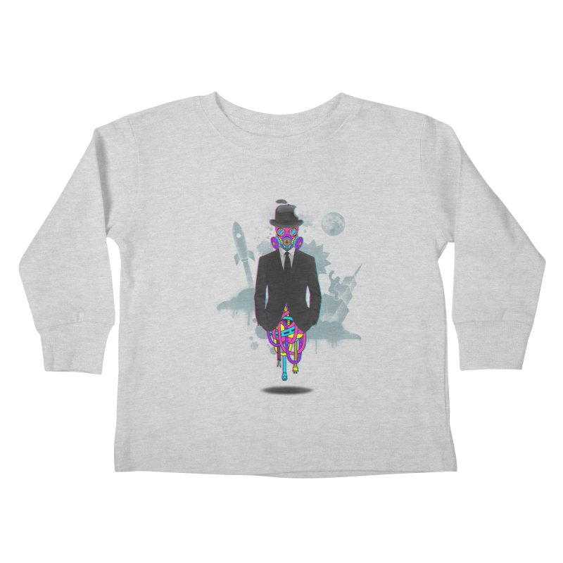 Issues Kids Toddler Longsleeve T-Shirt by eleken's Artist Shop