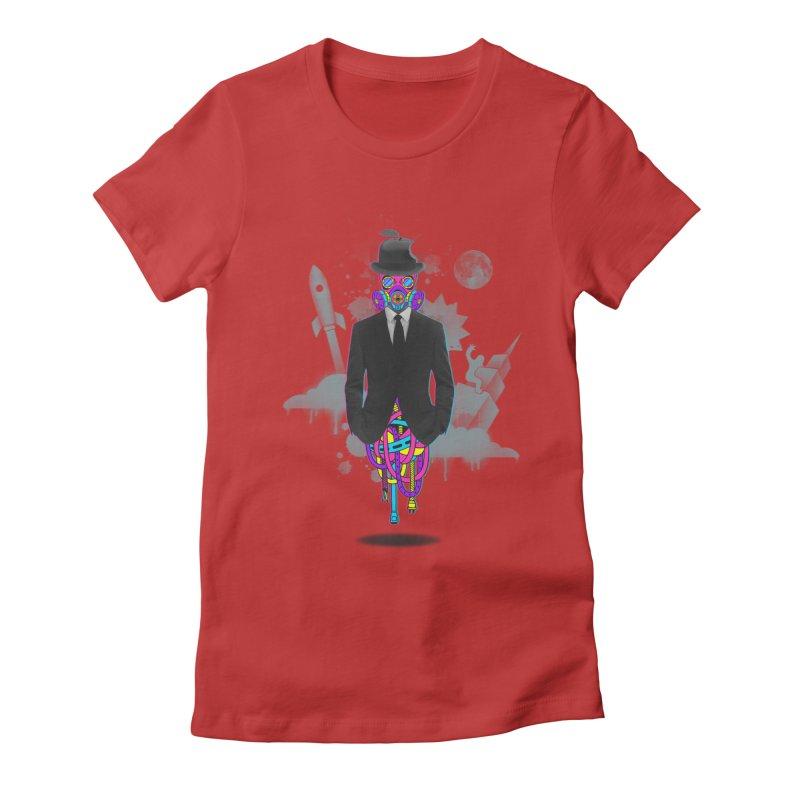 Issues Women's Fitted T-Shirt by eleken's Artist Shop