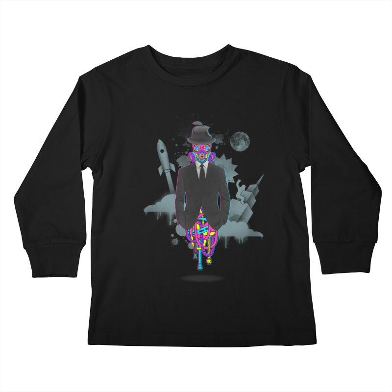 Issues Kids Longsleeve T-Shirt by eleken's Artist Shop