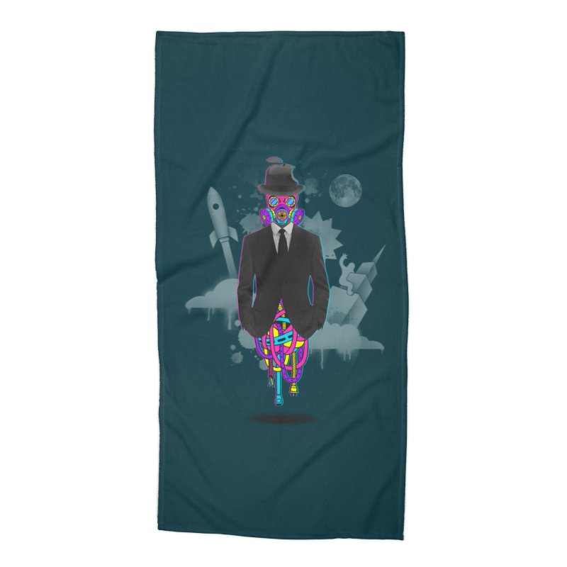 Issues Accessories Beach Towel by eleken's Artist Shop
