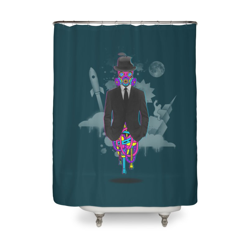 Issues Home Shower Curtain by eleken's Artist Shop