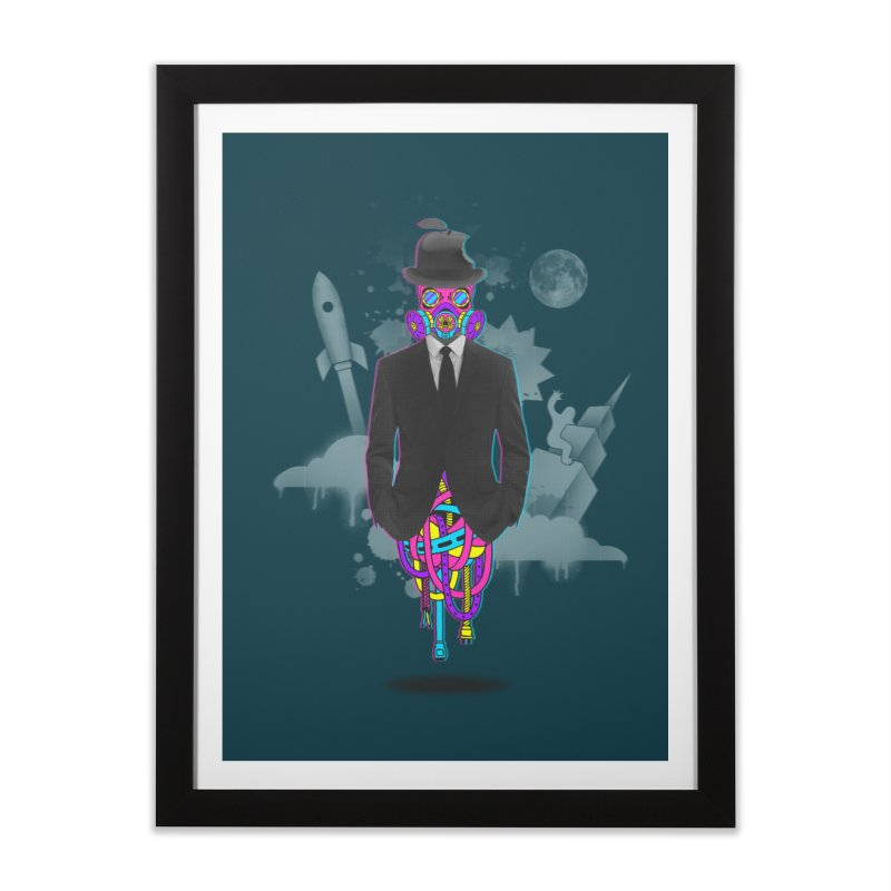 Issues Home Framed Fine Art Print by eleken's Artist Shop