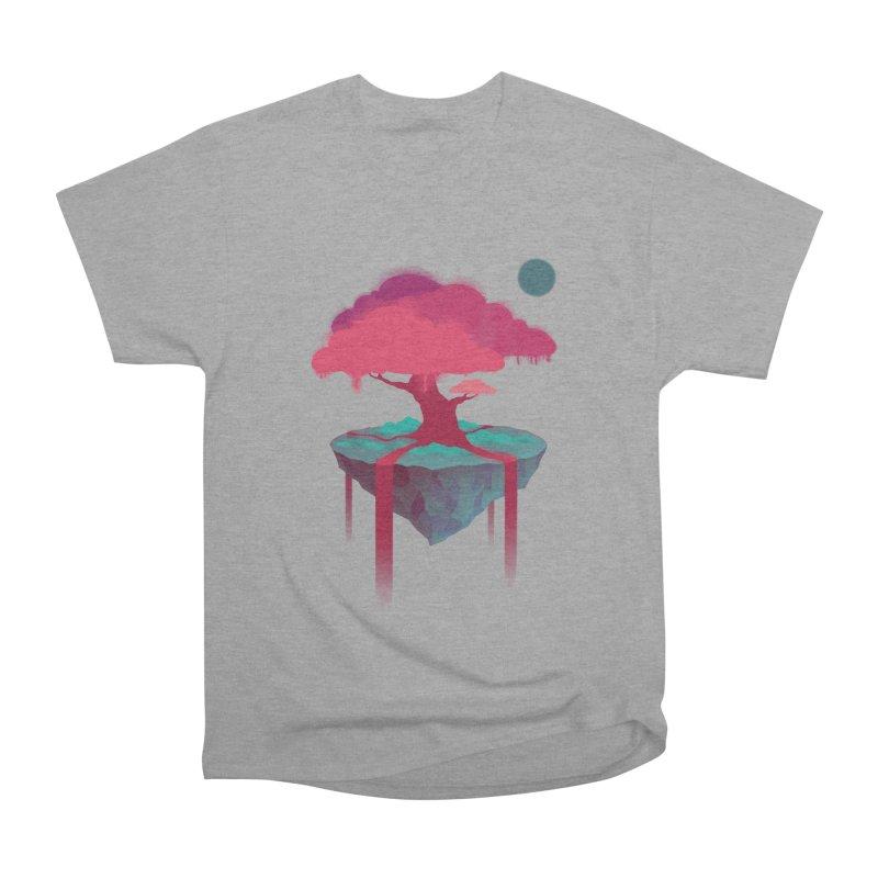 Island Women's Heavyweight Unisex T-Shirt by eleken's Artist Shop