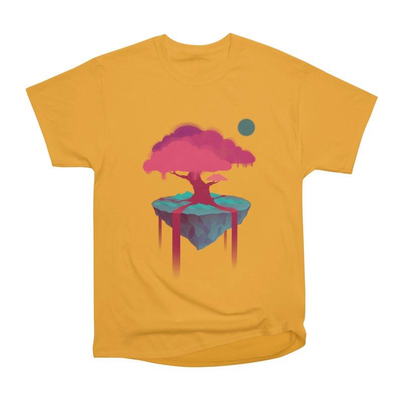 Island Men's Heavyweight T-Shirt by eleken's Artist Shop