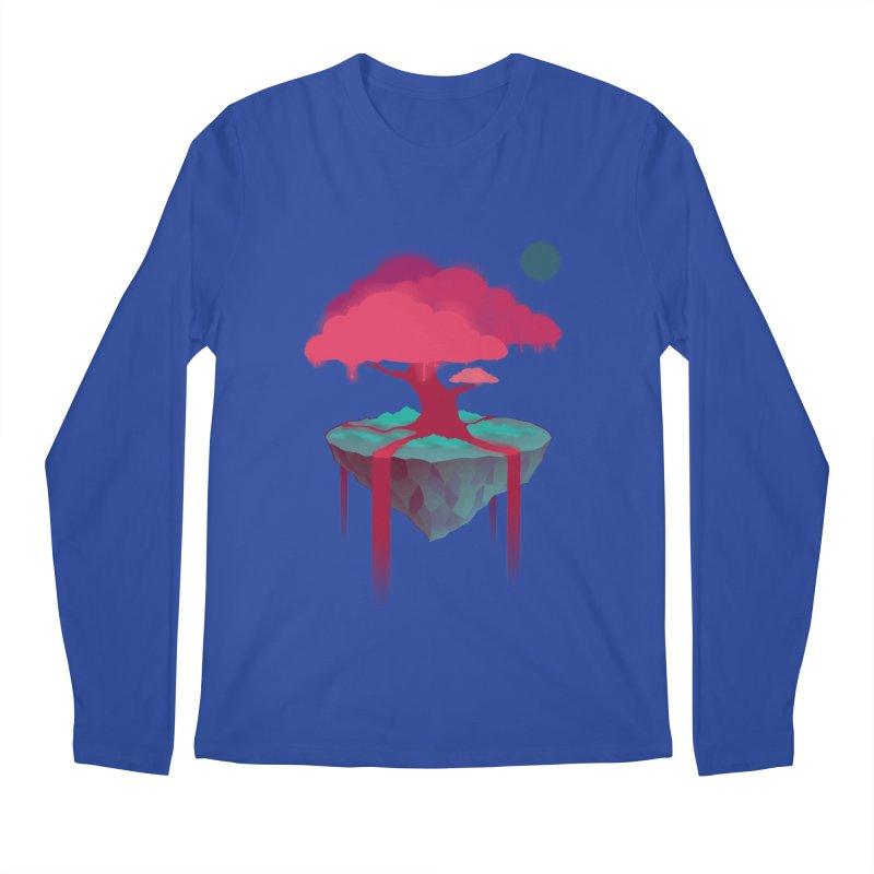Island Men's Longsleeve T-Shirt by eleken's Artist Shop