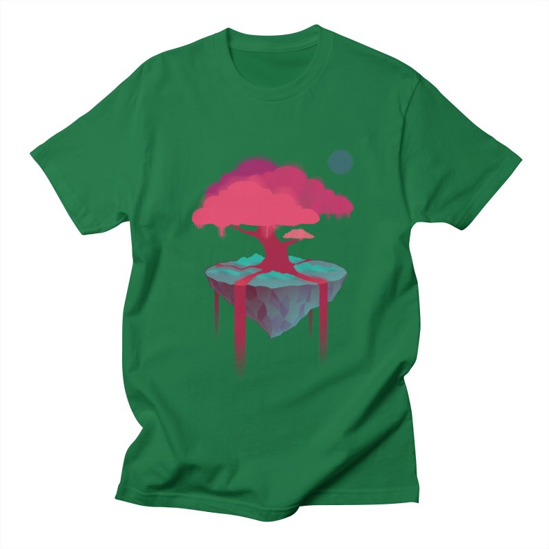 Island Men's T-Shirt by eleken's Artist Shop