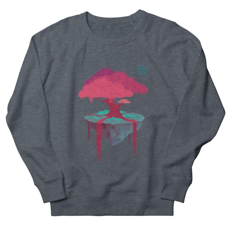 Island Men's French Terry Sweatshirt by eleken's Artist Shop